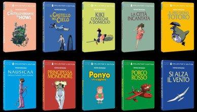 Studio Ghibli in steelbook