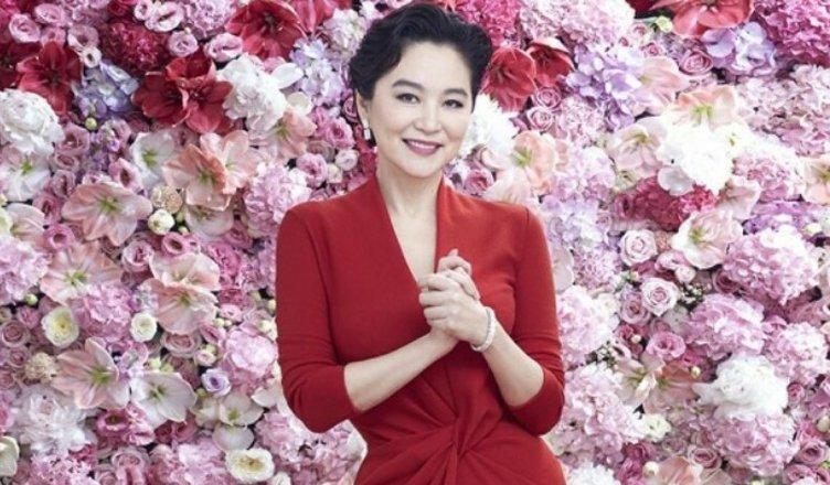 attrice Brigitte Lin a Udine
