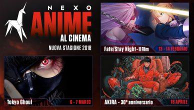 stagione Nexo Anime 2018