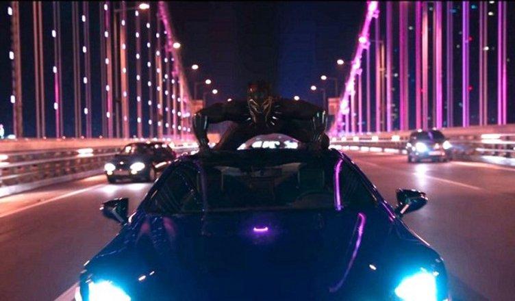 scena film black panther in corea del sud