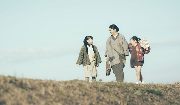 blossoming into a family film giapponese